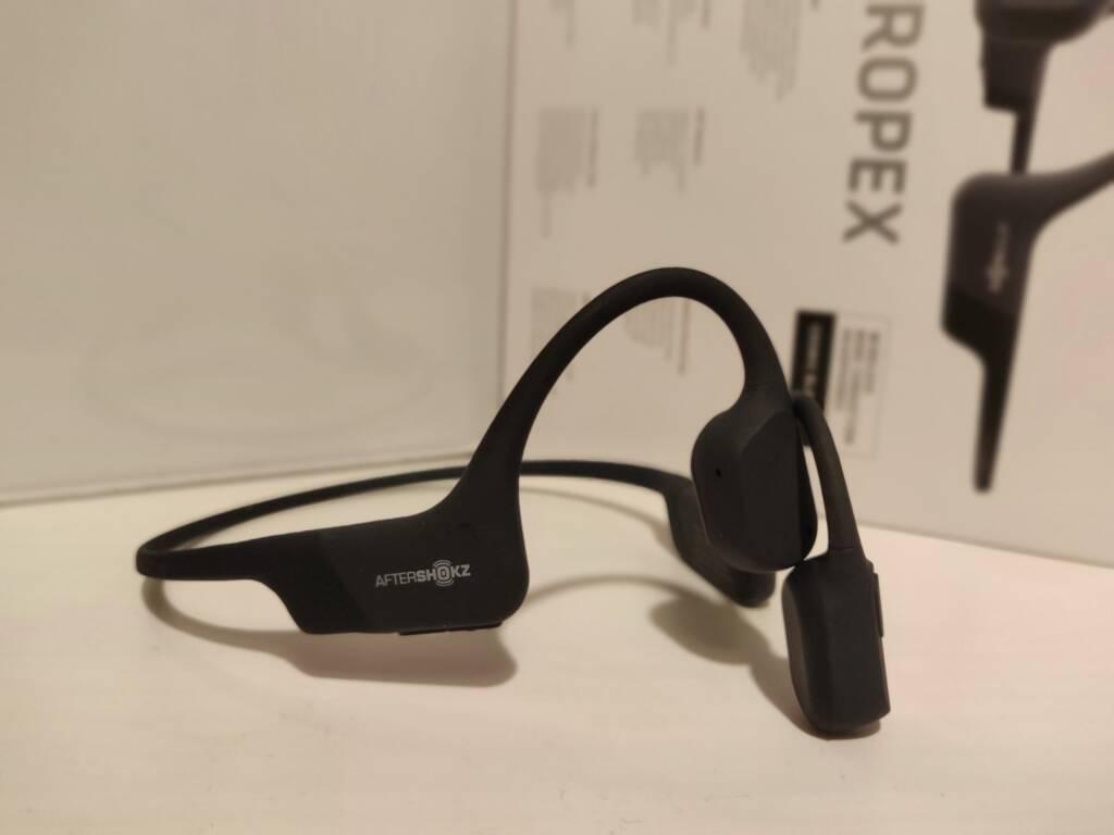 The Aeropex AfterShokz headphones