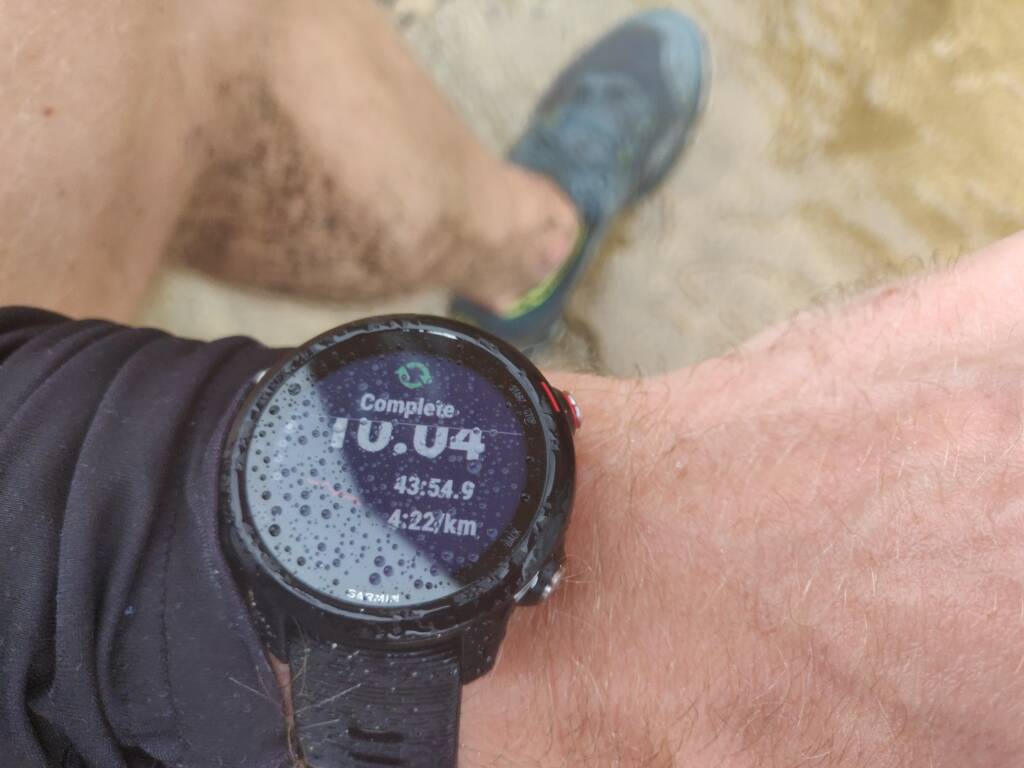 Saucony Peregrine 10 review - running in wet and muddy conditions