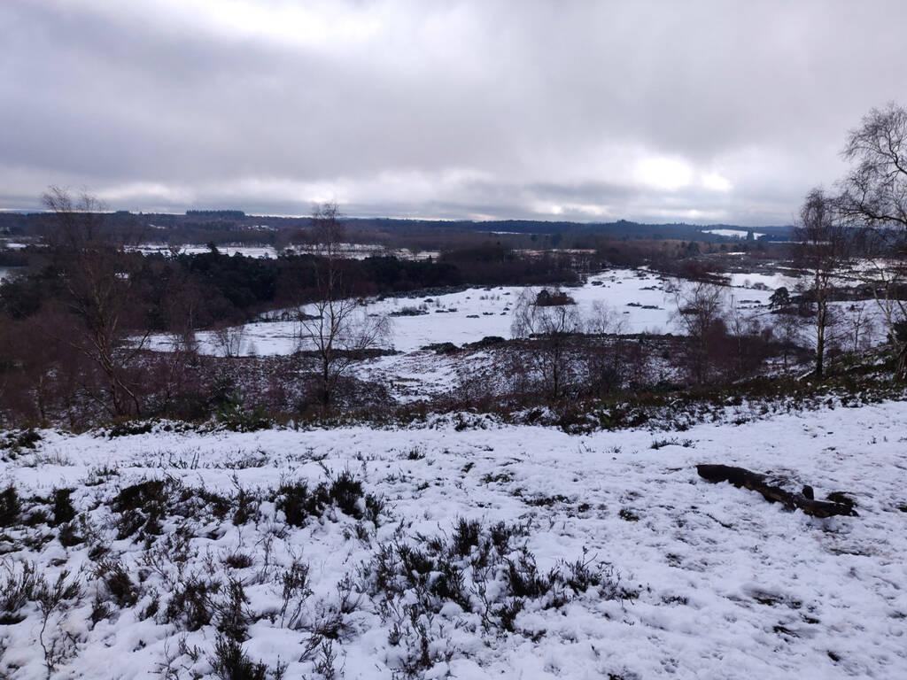 trail running motivation - great views